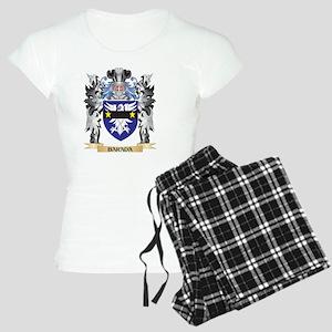 Barada Coat of Arms - Famil Women's Light Pajamas