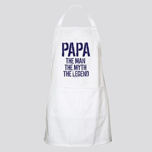 Papa, Man, Myth, Legend Apron