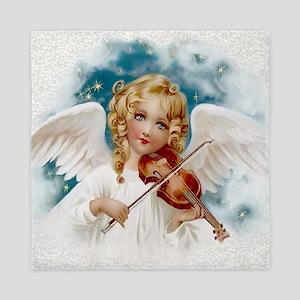 Heavenly Angel & Violin Queen Duvet