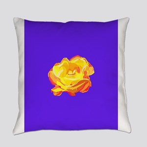 Yellow Rose Everyday Pillow