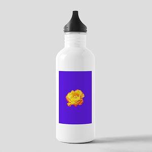 Yellow Rose Water Bottle