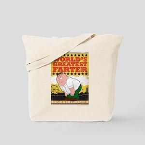 Family Guy World's Greatest Farter Tote Bag