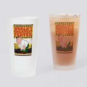 Family Guy World's Greatest Farter Drinking Glass