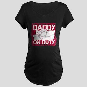 Family Guy Daddy on Duty Maternity Dark T-Shirt