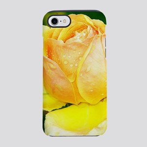 Beautiful Yellow and Red Roses iPhone 7 Tough Case