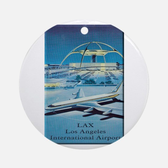 LAX Ornament (Round)