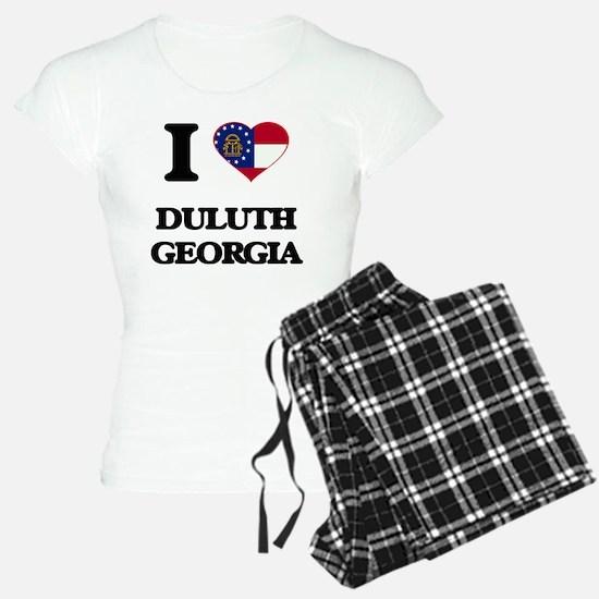 I love Duluth Georgia Pajamas