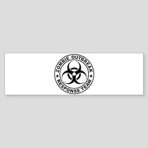 zombieresponseteambiocircle Bumper Sticker