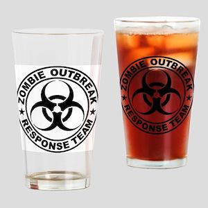 zombieresponseteambiocircle Drinking Glass
