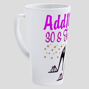 30TH HIGH HEEL 17 oz Latte Mug