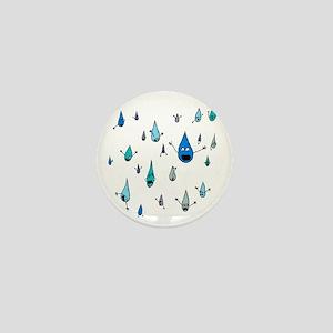 Mass Raindrop Death Mini Button