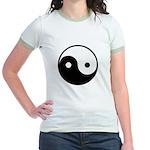 Yin and Yang Jr. Ringer T-Shirt