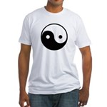 Yin and Yang Fitted T-Shirt