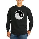 Yin and Yang Long Sleeve Dark T-Shirt