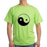 Yin and Yang Green T-Shirt