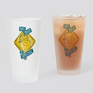 Family Guy My Dad is Special Drinking Glass