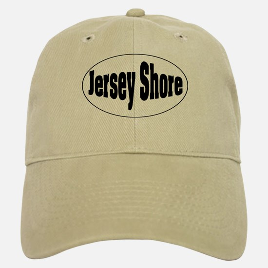 Jersey Shore Oval Baseball Baseball Cap