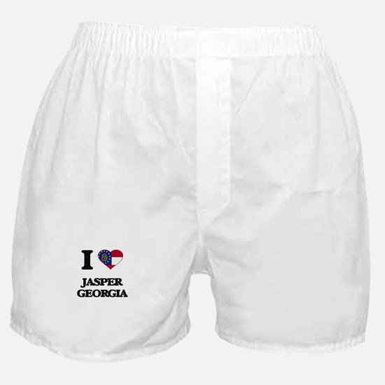 I love Jasper Georgia Boxer Shorts