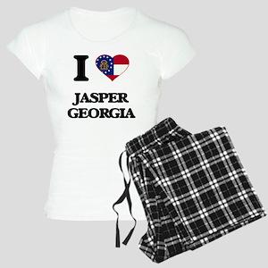 I love Jasper Georgia Women's Light Pajamas