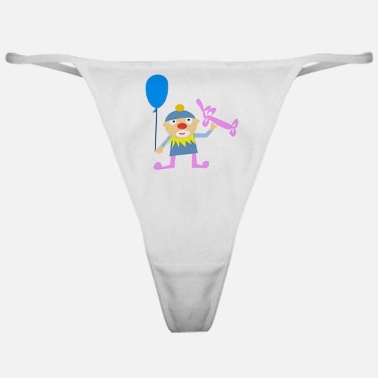 Birthday Clown Classic Thong