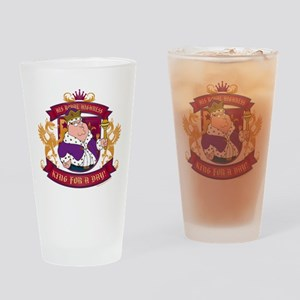 Family Guy King for a Day Drinking Glass
