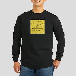 Simplifying Math Long Sleeve T-Shirt