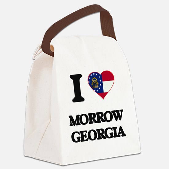 I love Morrow Georgia Canvas Lunch Bag