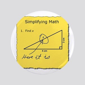 Simplifying Math Button