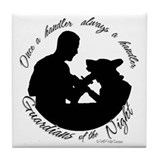 Military working dog handler Coasters