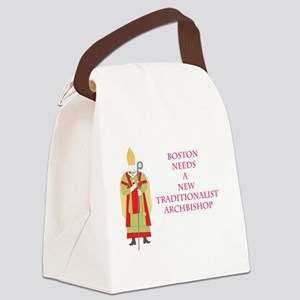 Boston needs trad abp.  Canvas Lunch Bag