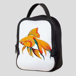 Colorful Fish Neoprene Lunch Bag