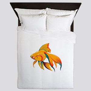 Colorful Fish Queen Duvet