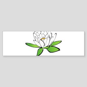 Lily Sketch Bumper Sticker