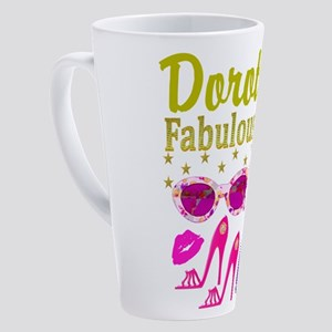 40TH DIVA 17 oz Latte Mug