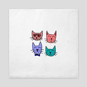 Kitty Kats Queen Duvet