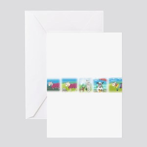 A Wool Sweater Greeting Cards