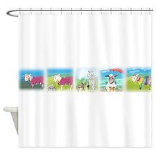 A Wool Sweater Shower Curtain