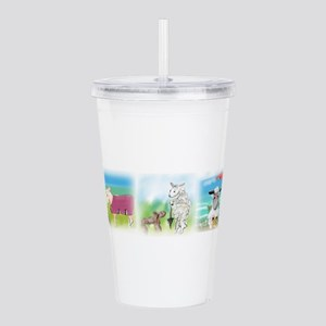A Wool Sweater Acrylic Double-wall Tumbler