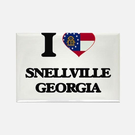 I love Snellville Georgia Magnets