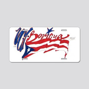 Boricua N.Y. Aluminum License Plate