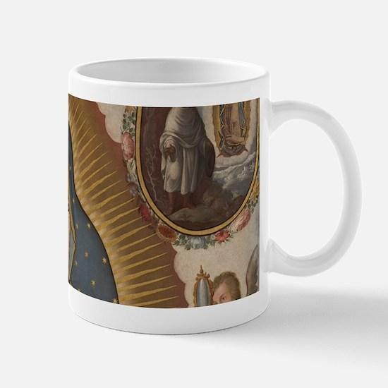Virgin of Guadalupe. Mugs