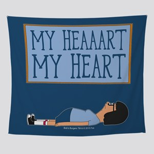Bob's Burgers Tina Heart Wall Tapestry