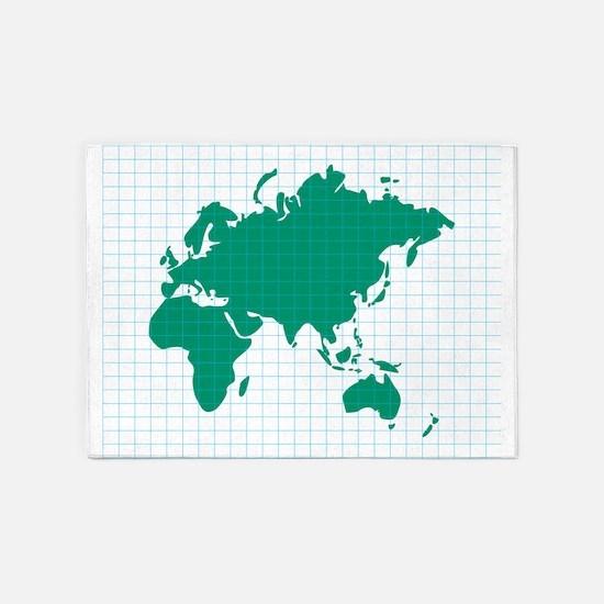 Eastern Hemisphere 5'x7'area Rug
