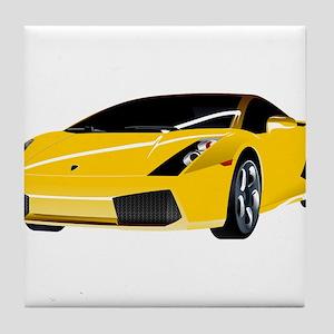 Fancy Car Tile Coaster