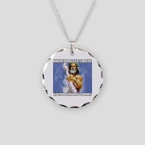 Zeus Necklace Circle Charm