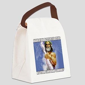 Zeus Canvas Lunch Bag