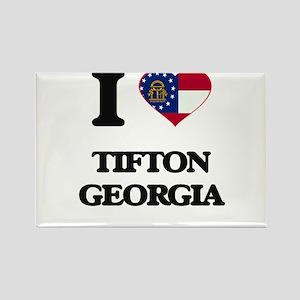 I love Tifton Georgia Magnets
