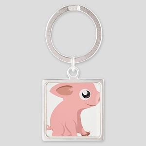 Baby Pig Keychains