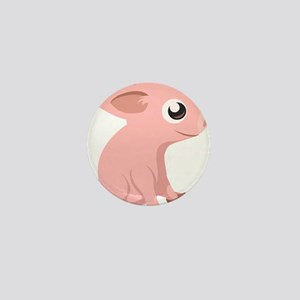 Baby Pig Mini Button