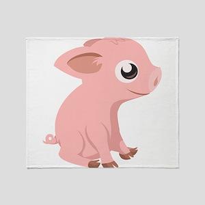 Baby Pig Throw Blanket